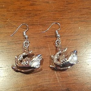 Jewelry - New shark earrings